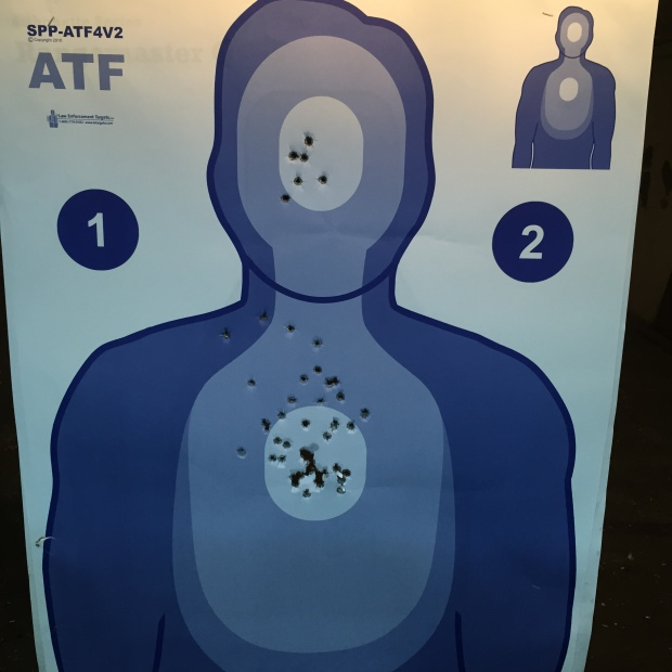 96 on the ATF course.