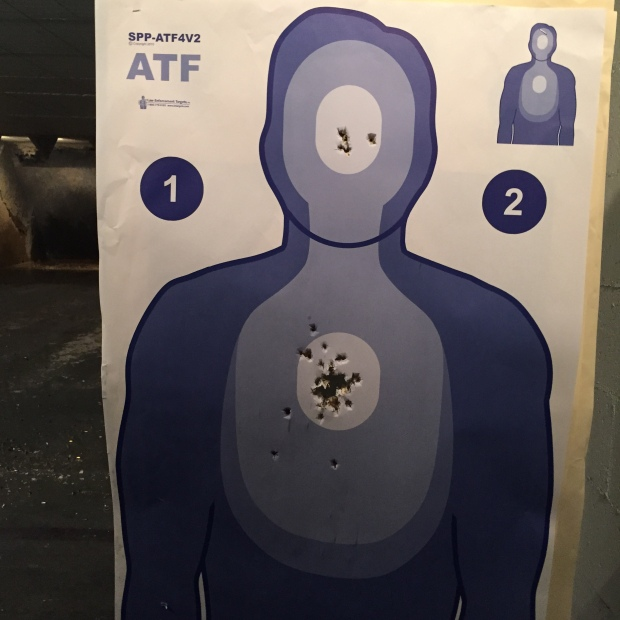 100 on the ATF Course